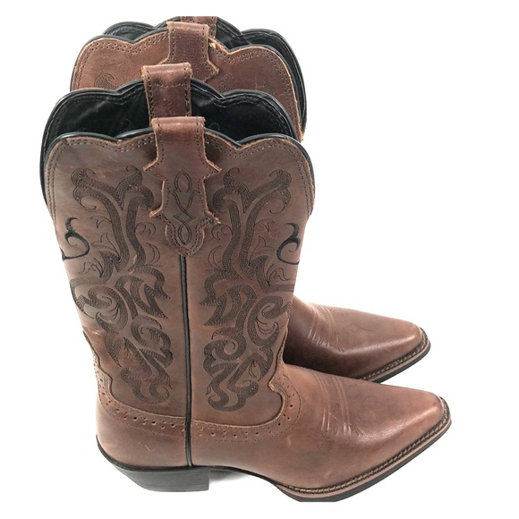 3b534d4e45b Justin Womens Stampede Sorrel Apache Western